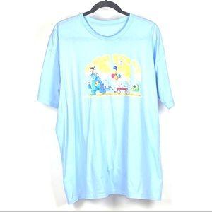 🌸TeePublic Monsters Inc Women's Blue T-Shirt 1006